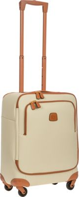 BRIC'S Firenze 21 inch Carry-On  Spinner Cream - BRIC'S Softside Carry-On
