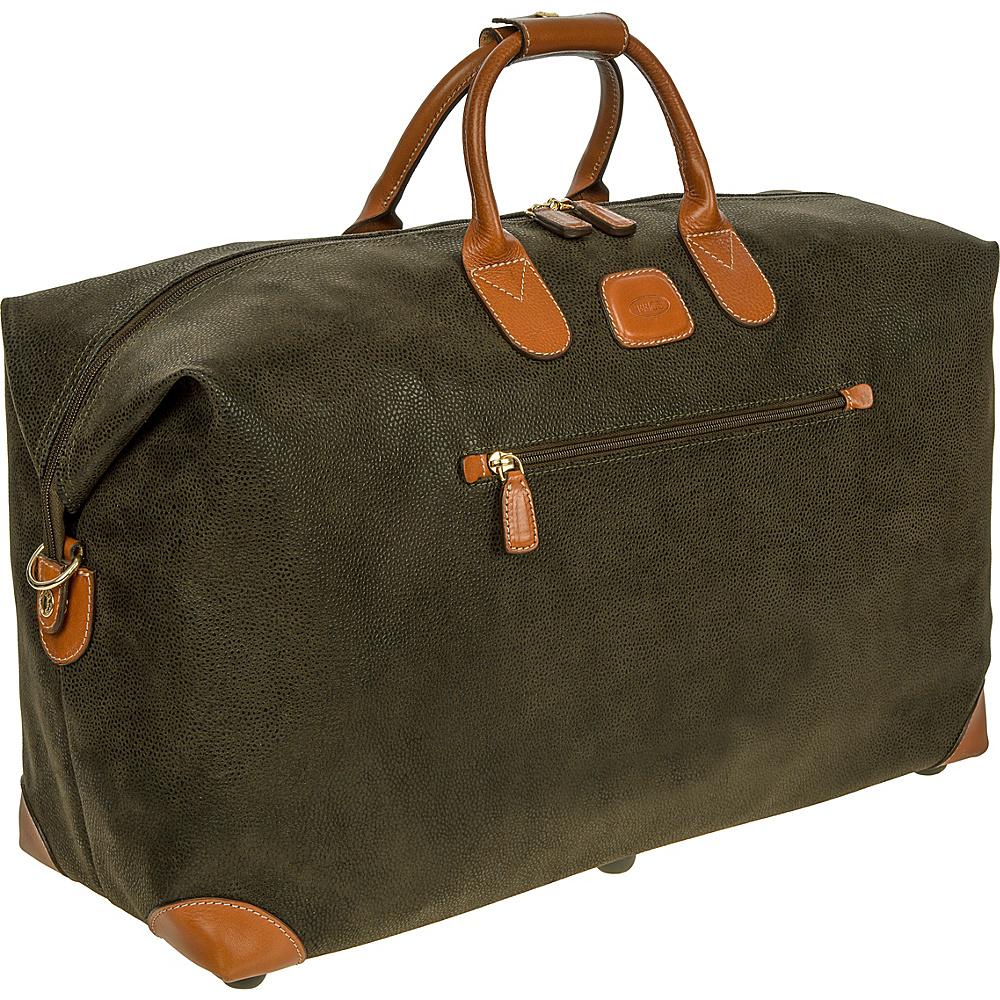 BRIC S Life 22 Cargo Duffle Olive BRIC S Travel Duffels
