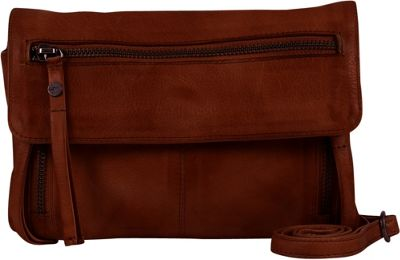 Day & Mood Hazel Crossbody Rusty Red - Day & Mood Leather Handbags