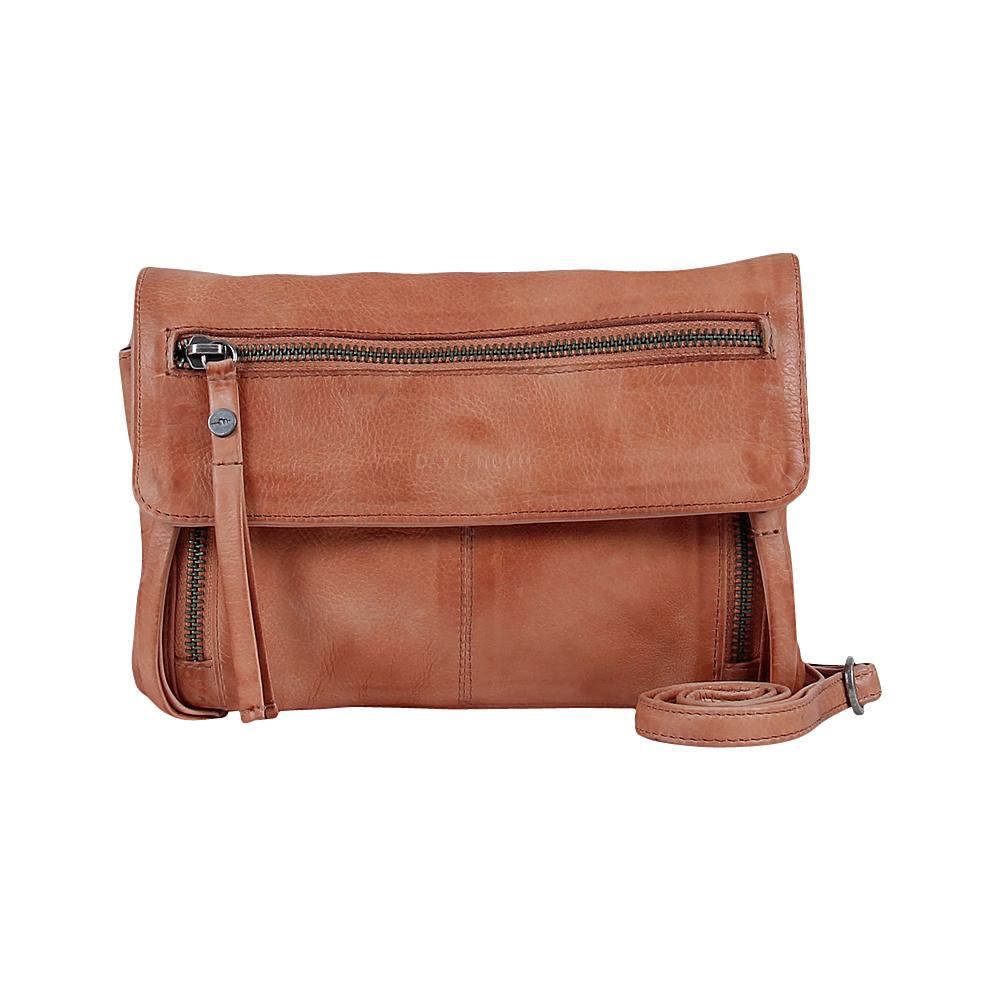 Day Mood Hazel Crossbody Peach Day Mood Leather Handbags