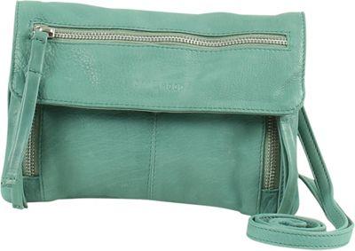 Day & Mood Hazel Crossbody Dusty Green - Day & Mood Leather Handbags