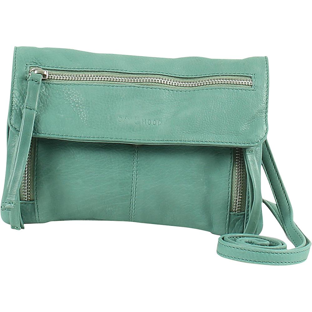 Day Mood Hazel Crossbody Dusty Green Day Mood Leather Handbags