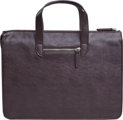 Setton Brothers Elogio Briefcase Brown - Setton Brothers Non-Wheeled Business Cases