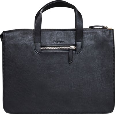Setton Brothers Elogio Briefcase Black - Setton Brothers Non-Wheeled Business Cases