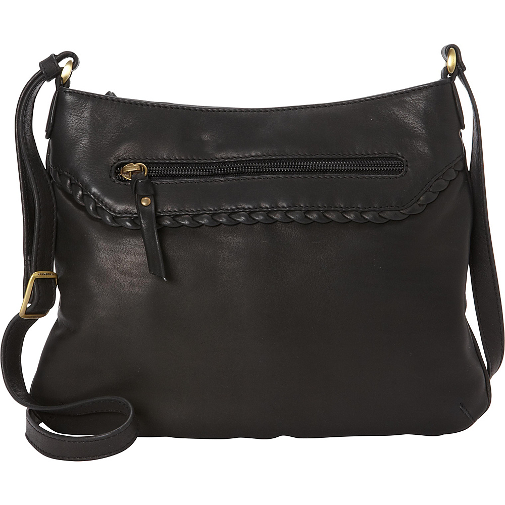 Derek Alexander Small Top Zip Convertible Crossbody Black - Derek Alexander Leather Handbags - Handbags, Leather Handbags