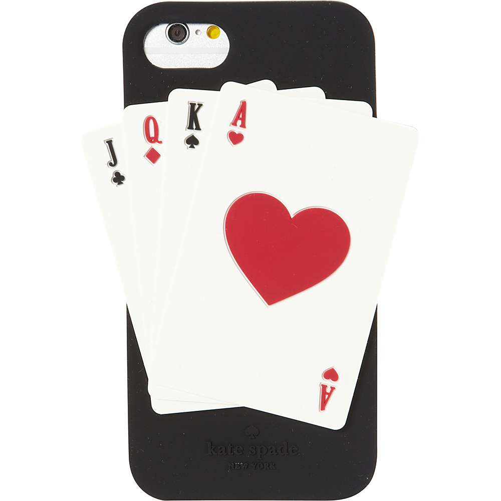 kate spade new york Deck of Cards iPhone 7 Case Black Multi kate spade new york Electronic Cases
