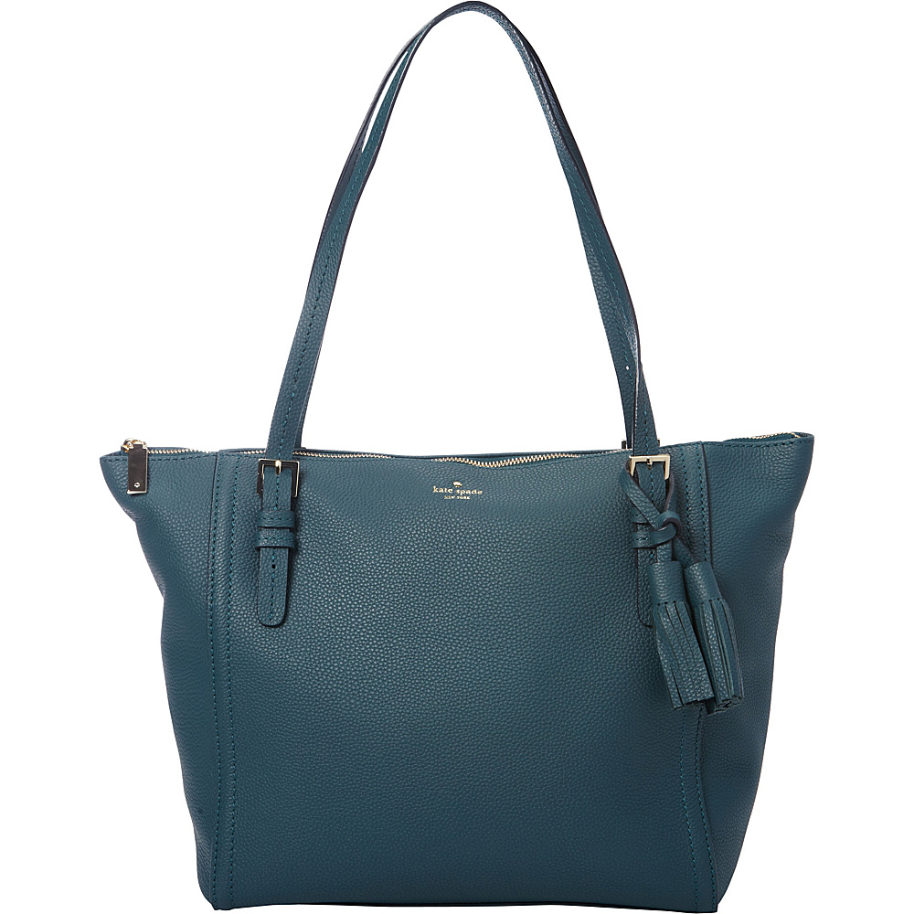 kate spade new york Orchard Street Maya Tote Emerald Forest kate spade new york Designer Handbags