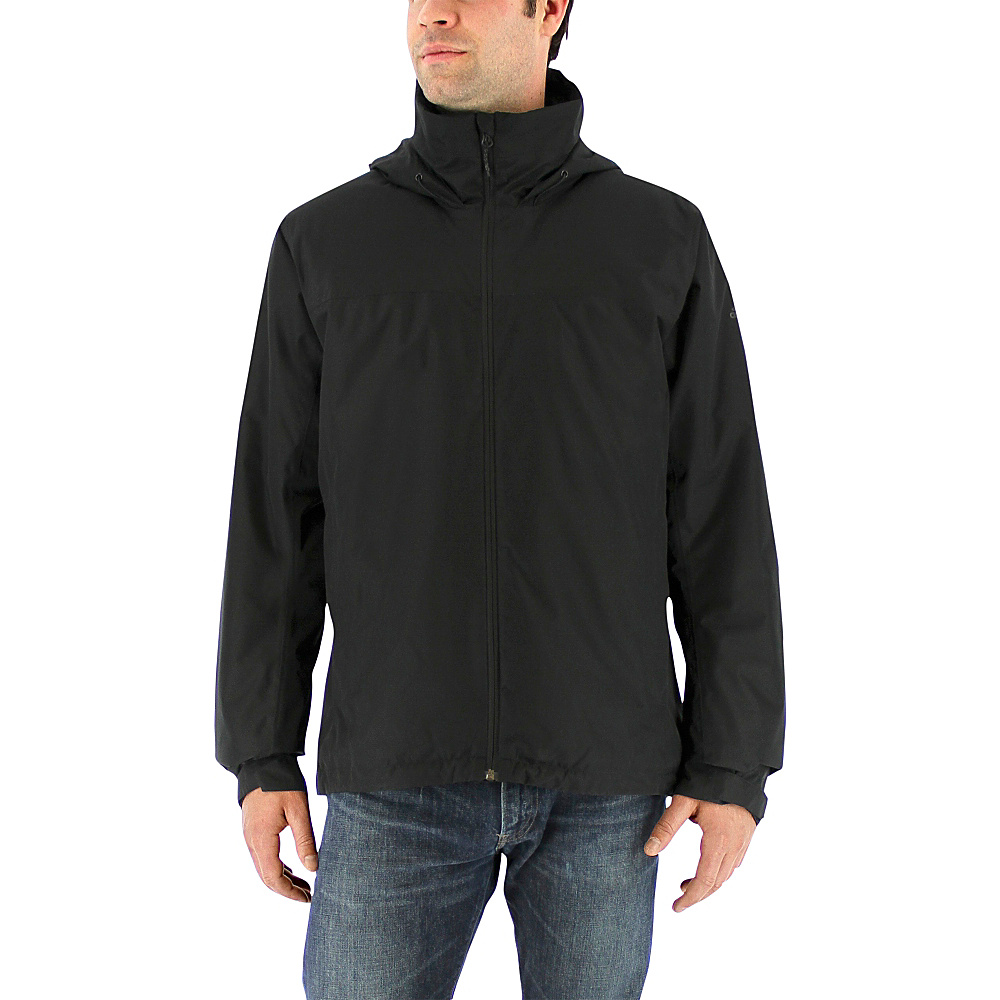 adidas outdoor Mens Wandertag Insulated Jacket 2XL - Black - adidas outdoor Mens Apparel - Apparel & Footwear, Men's Apparel