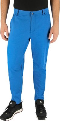 Image of adidas apparel Mens Fight Gravity Pant 40 - Unity Blue - adidas apparel Men's Apparel