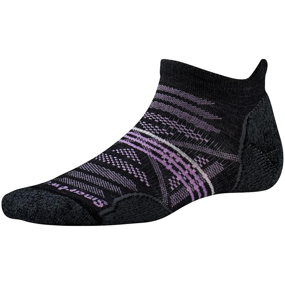 Smartwool Womens PhD Outdoor Light Micro Charcoal Medium Smartwool Women s Legwear Socks