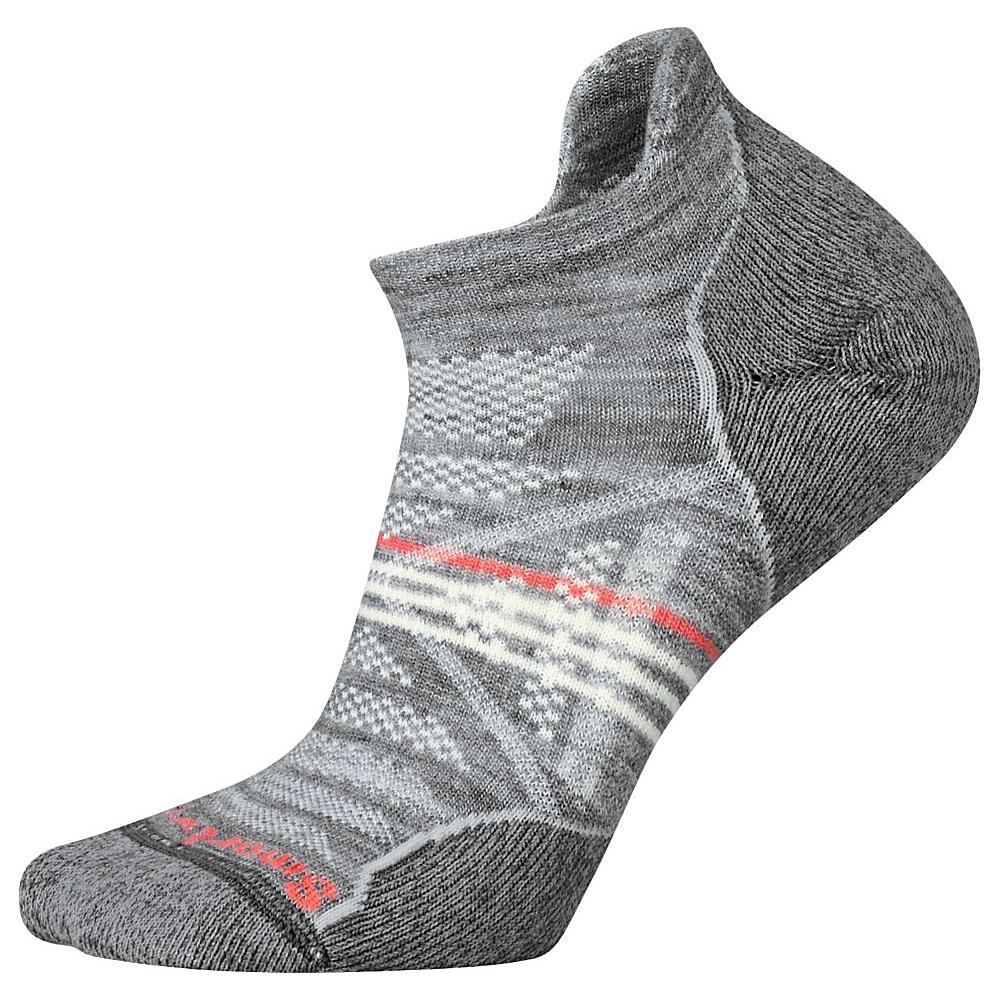 Smartwool Womens PhD Outdoor Light Micro Light Gray Medium Smartwool Women s Legwear Socks