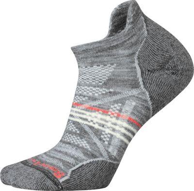 Smartwool Womens PhD Outdoor Light Micro Light Gray - Large - Smartwool Women's Legwear/Socks