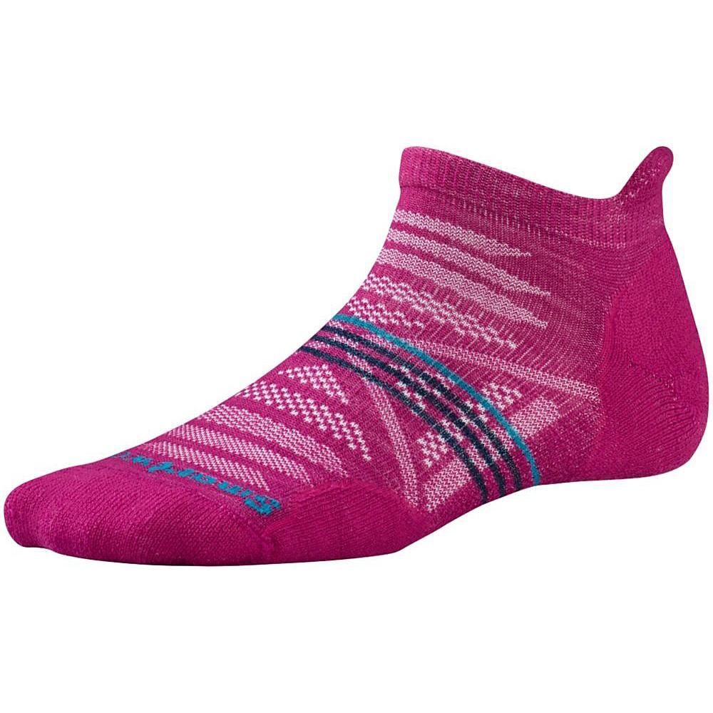 Smartwool Womens PhD Outdoor Light Micro Berry Large Smartwool Women s Legwear Socks