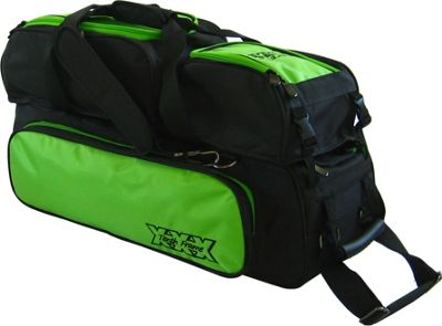 Tenth Frame Triple Tote Plus Lime - Tenth Frame Bowling Bags