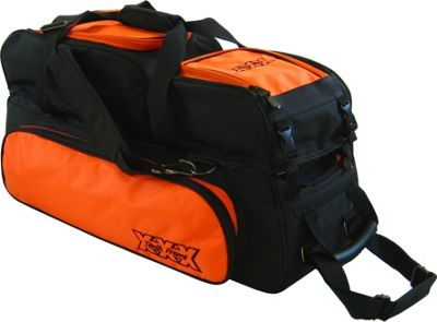 Tenth Frame Triple Tote Plus Orange - Tenth Frame Bowling Bags