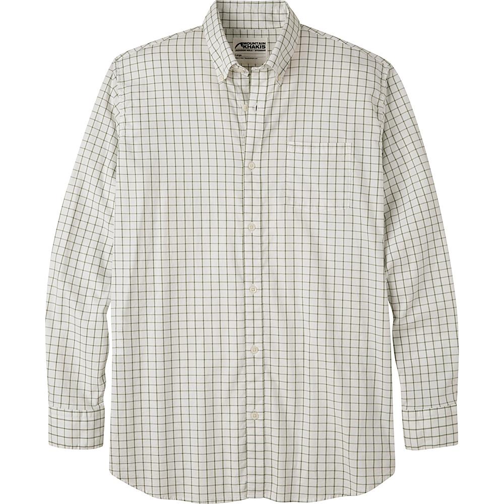 Mountain Khakis Davidson Stretch Oxford Shirt S - Scout Check - Mountain Khakis Mens Apparel - Apparel & Footwear, Men's Apparel