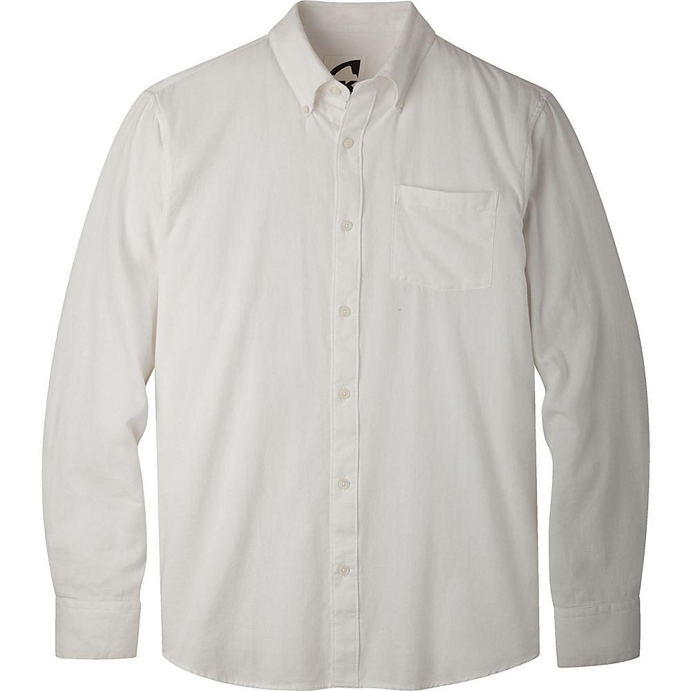 Mountain Khakis Davidson Stretch Oxford Shirt L - Linen - Mountain Khakis Mens Apparel - Apparel & Footwear, Men's Apparel