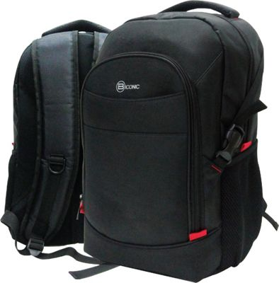 B iconic Luna Laptop Backpack Black - B iconic Business & Laptop Backpacks