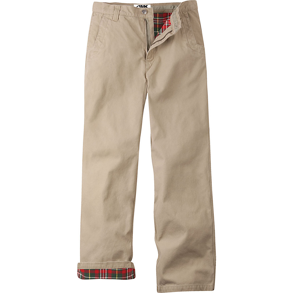 Mountain Khakis Flannel Original Mountain Pant Relaxed Fit 38 - 36in - Freestone - Mountain Khakis Mens Apparel - Apparel & Footwear, Men's Apparel