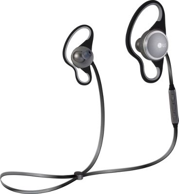 LG Force Bluetooth Wireless Headset Black - LG Headphones & Speakers