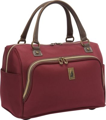 London Fog Coventry Hyperlights 17 inch Cabin Bag Plum - London Fog Luggage Totes and Satchels