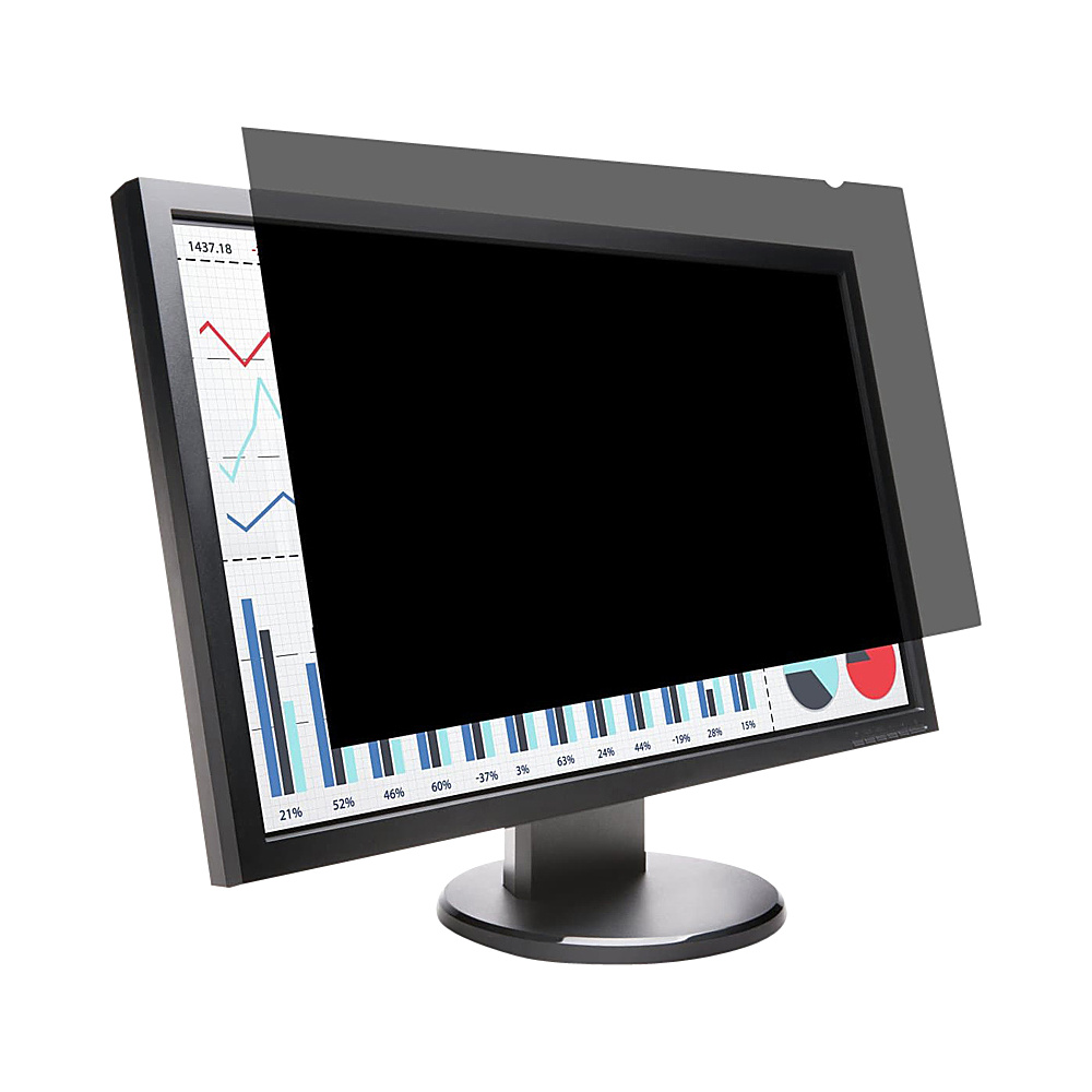 Kensington Privacy Screen for 24 Widescreen Monitors 16 10 Black Kensington Electronic Accessories