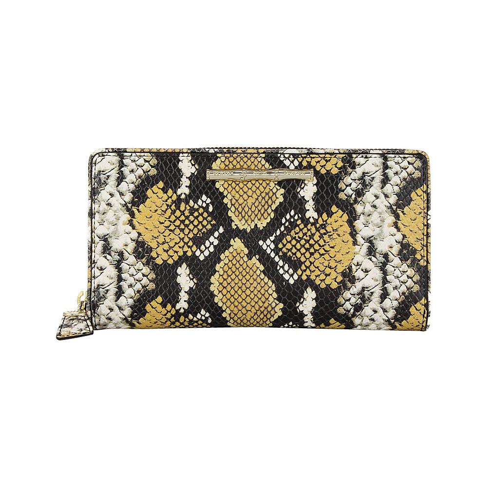 Elaine Turner iPhone Wallet Golden Ocre Python Elaine Turner Women s Wallets