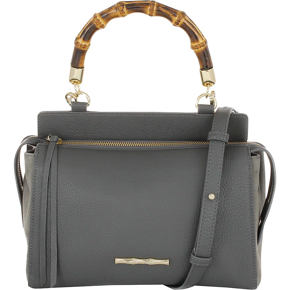 Elaine Turner Olive Satchel Dove Grey Elaine Turner Designer Handbags