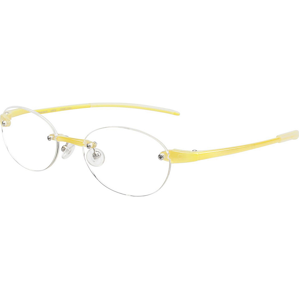 Visualites Round Reading Glasses 2.50 Lemon Visualites Sunglasses