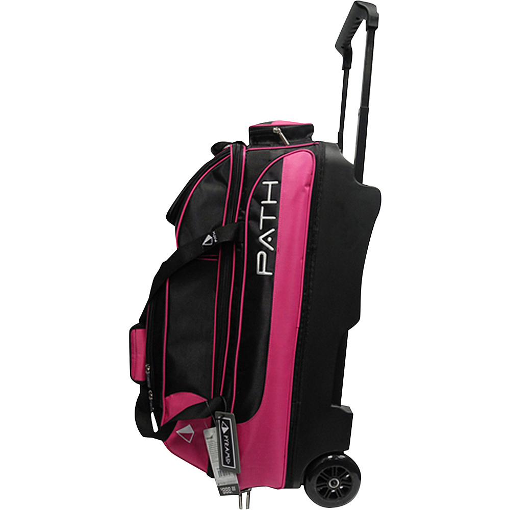 Pyramid Path Triple Deluxe Roller Bowling Bag Hot Pink Pyramid Ski and Snowboard Bags