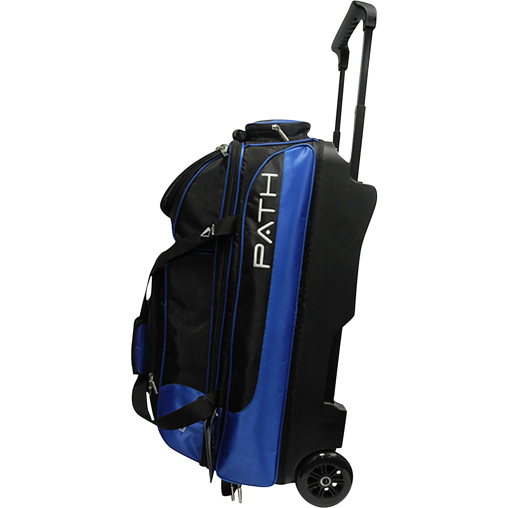 Pyramid Path Triple Deluxe Roller Bowling Bag Royal Blue Pyramid Ski and Snowboard Bags