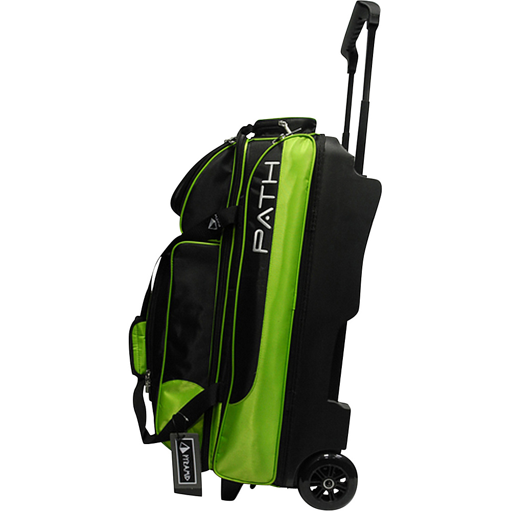 Pyramid Path Triple Deluxe Roller Bowling Bag Lime Green Pyramid Ski and Snowboard Bags