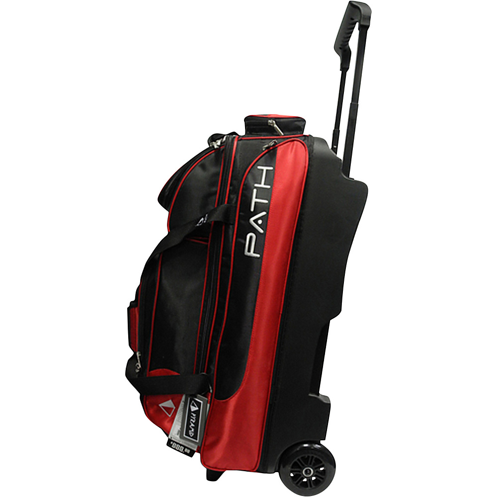 Pyramid Path Triple Deluxe Roller Bowling Bag Red Pyramid Ski and Snowboard Bags