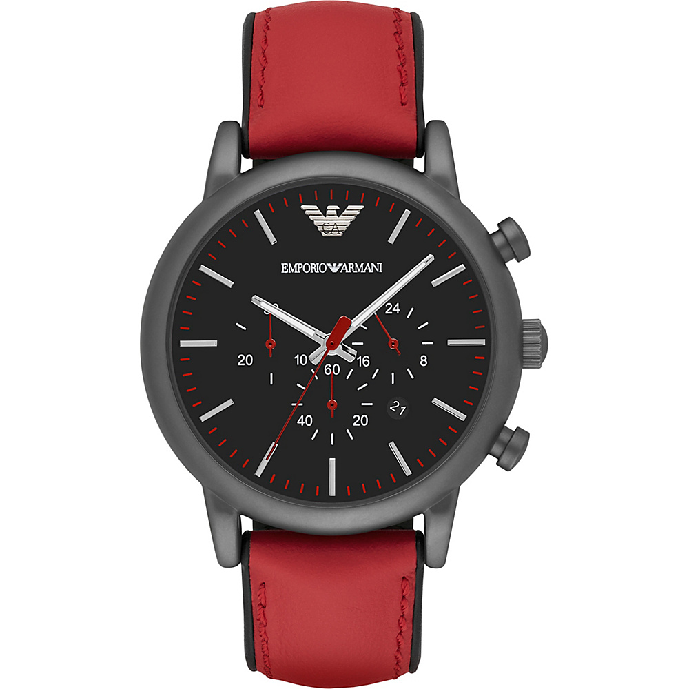 Emporio Armani Sport Watch Red Emporio Armani Watches