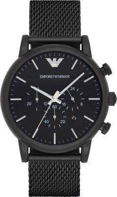 Emporio Armani Sport Watch Black/Black Mesh - Emporio Arm...