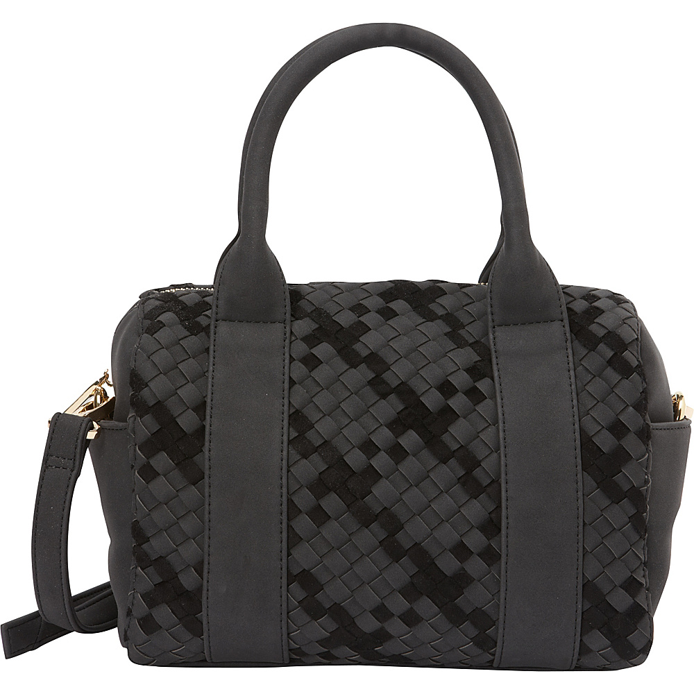 deux lux Delaney Mini Duffle Black deux lux Manmade Handbags