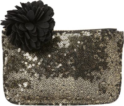 deux lux Marquee Mini Pouch Gold - deux lux Women's SLG Other