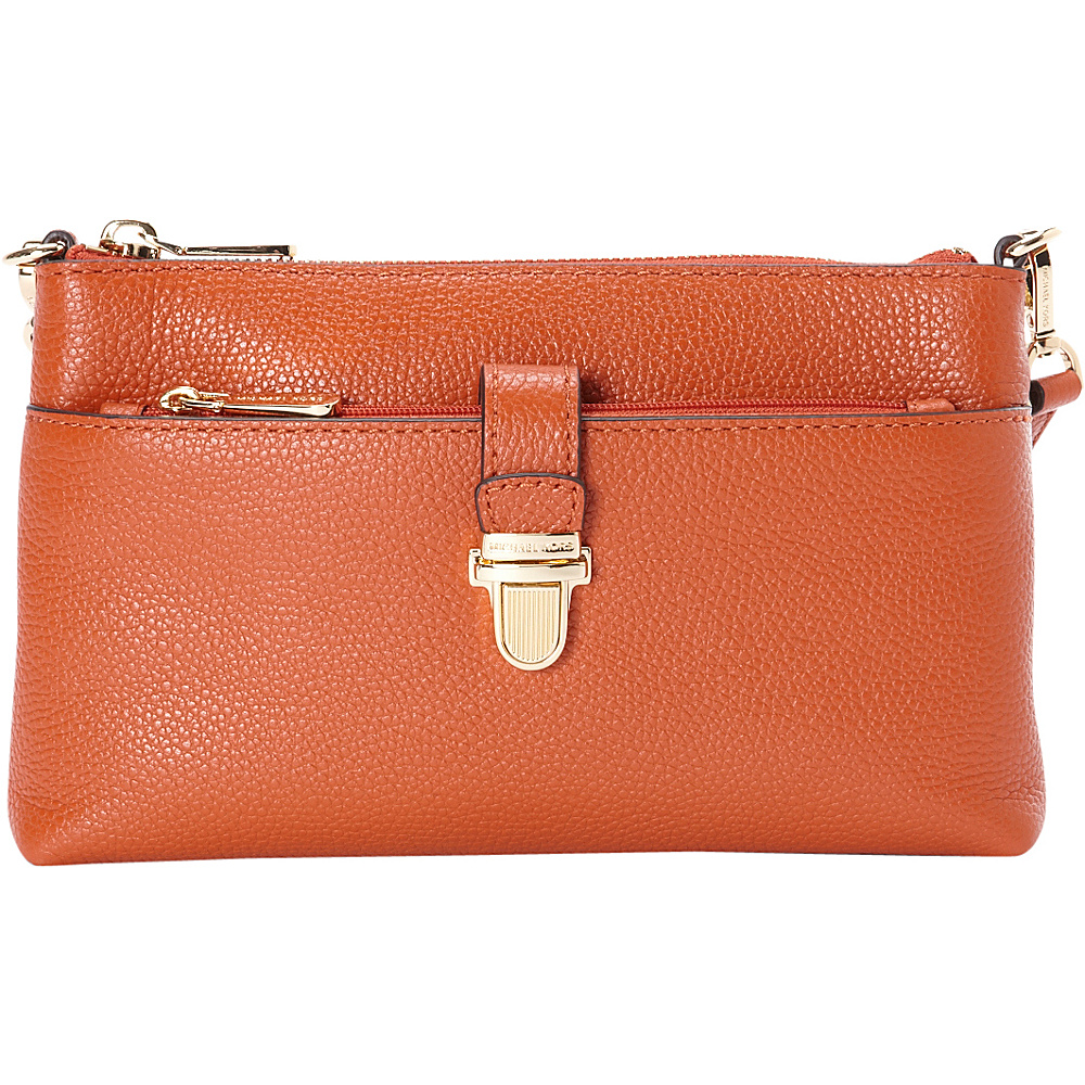 MICHAEL Michael Kors Mercer Medium Snap Pocket Crossbody Orange MICHAEL Michael Kors Designer Handbags