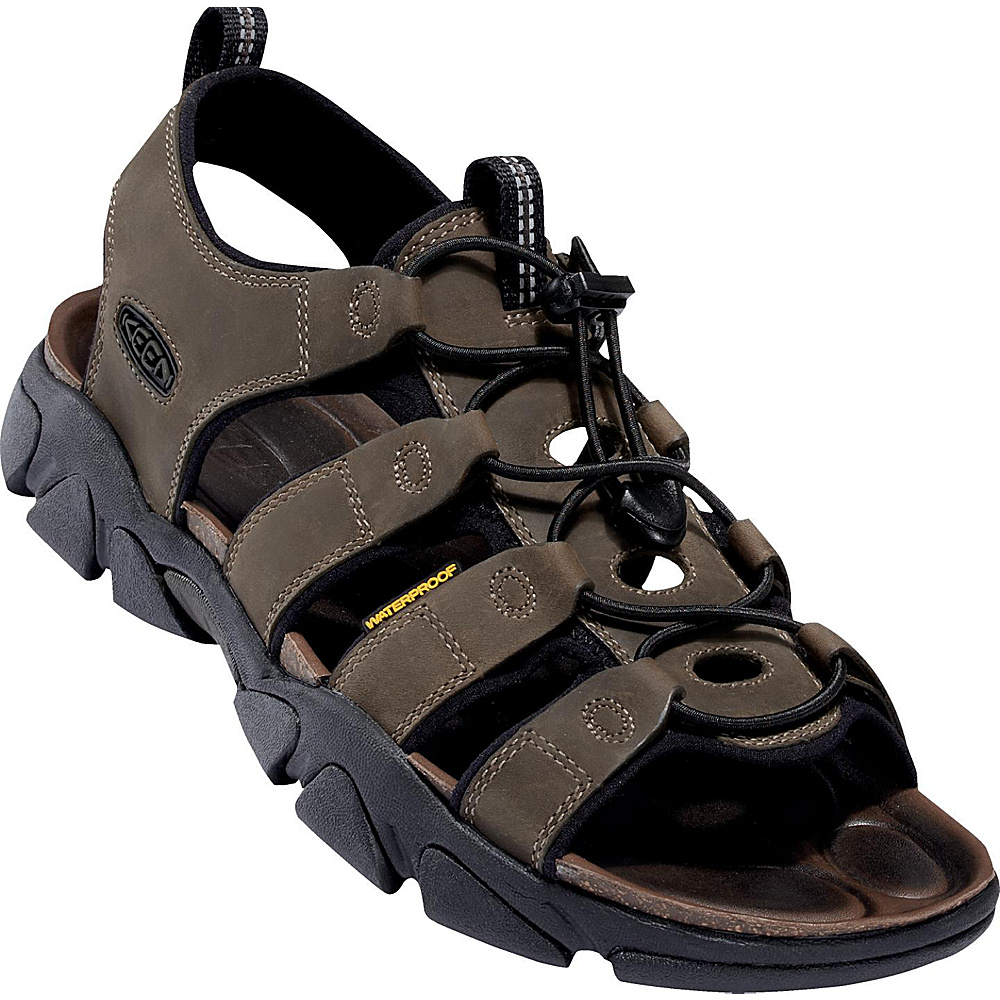 KEEN Mens Daytona Sandal 11.5 - Black Olive - KEEN Mens Footwear - Apparel & Footwear, Men's Footwear