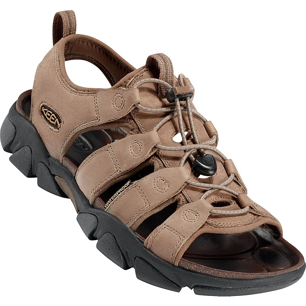 KEEN Mens Daytona Sandal 11.5 - Timberwolf - KEEN Mens Footwear - Apparel & Footwear, Men's Footwear