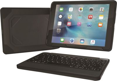 Zagg Rugged Durable Hinged Backlit Keyboard for iPad Pro 9.7 Black - Zagg Electronic Cases