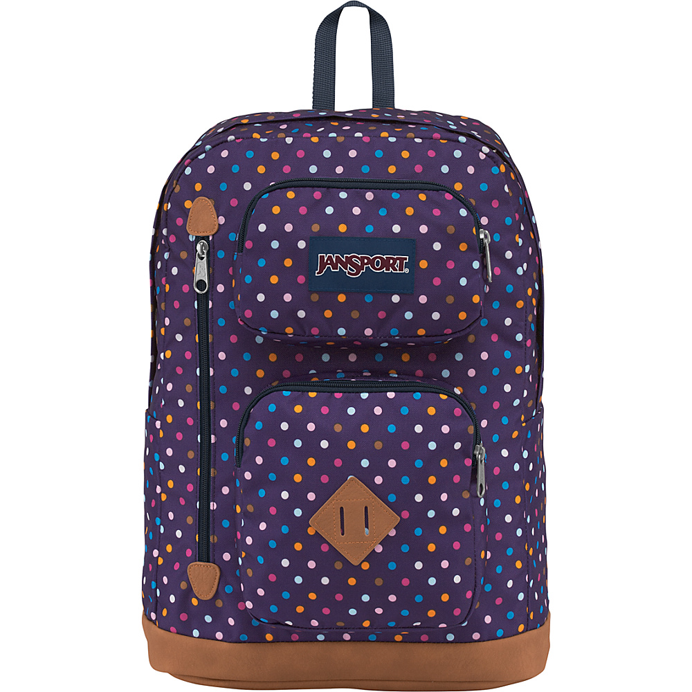 eb74b10148 JanSport Austin Backpack- Sale Colors Purple Spot-O-Rama - JanSport  Everyday Backpacks