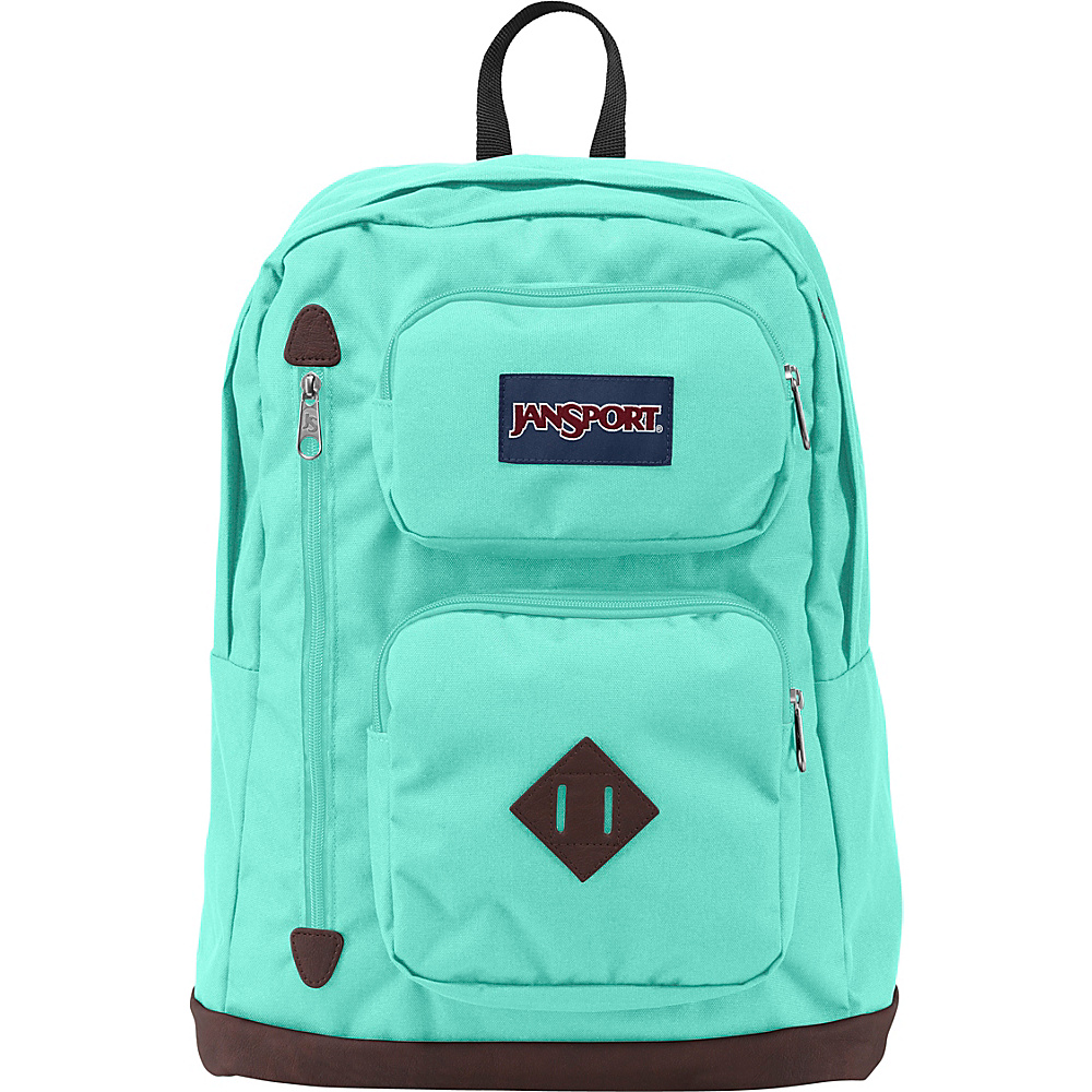 JanSport Austin Backpack- Discontinued Colors Aqua Dash - JanSport Everyday Backpacks