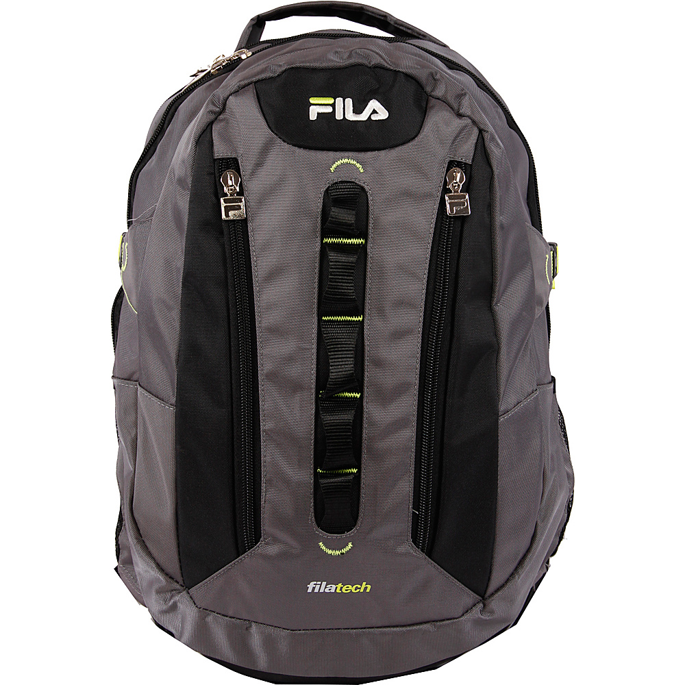 Fila Vertex Tablet and Laptop Backpack Grey Fila Everyday Backpacks
