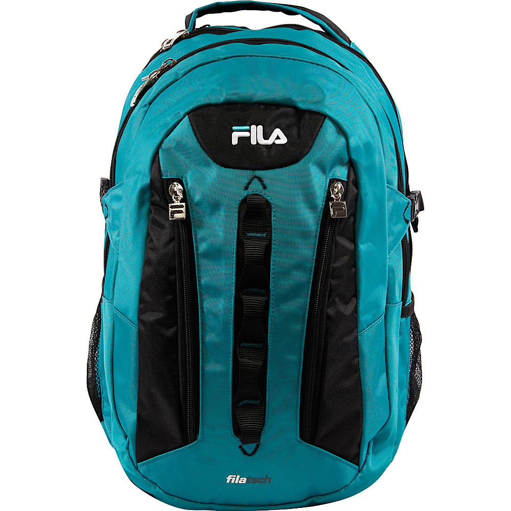 Fila Vertex Tablet and Laptop Backpack Teal Fila Everyday Backpacks