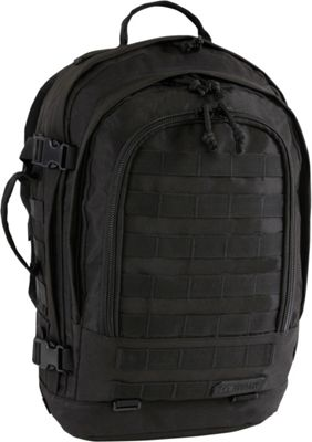Highland Tactical Rumble Heavy Duty Tactical Backpack Black - Highland Tactical Day Hiking Backpacks