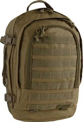 Highland Tactical Rumble Heavy Duty Tactical Backpack Dark Green - Highland Tactical Day Hiking Backpacks