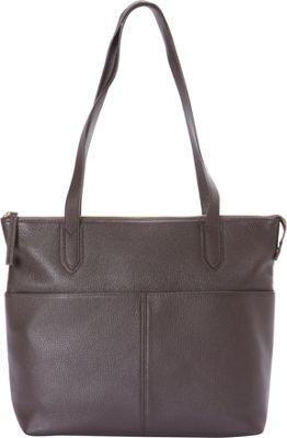 Bella Handbags Nicole Tote Brown - Bella Handbags Leather Handbags