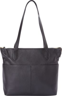 Bella Handbags Nicole Tote Black - Bella Handbags Leather Handbags