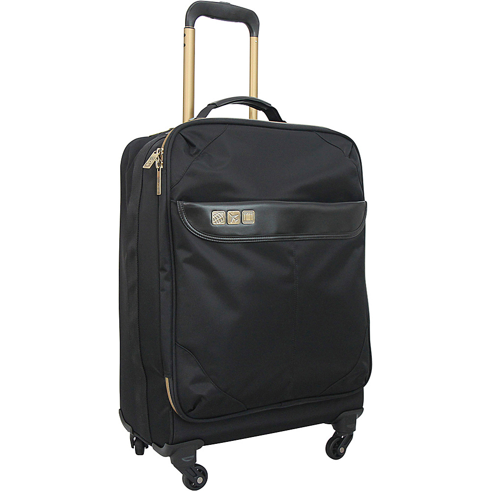 Flight 001 19 Avionette Carry On Spinner Black Flight 001 Softside Carry On
